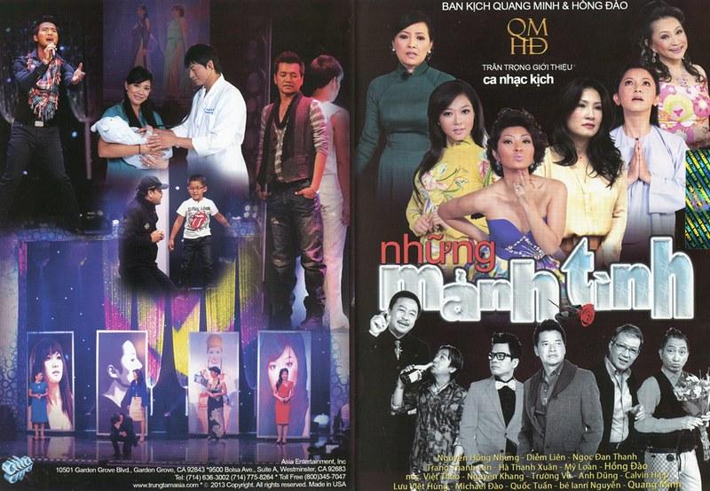[Asia | Ca Nhạc | Hài | DVDrip] Ban Nhạc Kịch Quang Minh & Hồng Đào : Những Mảnh Tình