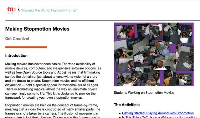 Webmaker Stopmotion