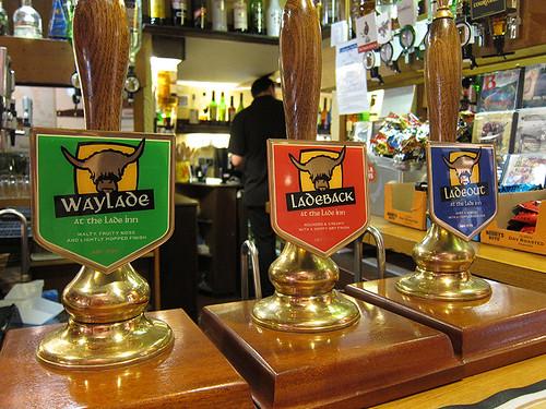 house beers @ Lade Inn
