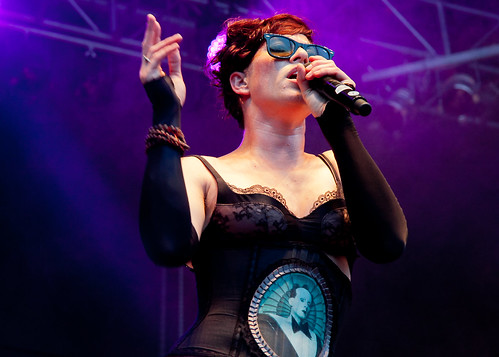 Amanda Palmer live am Harvest of Art Warm Up