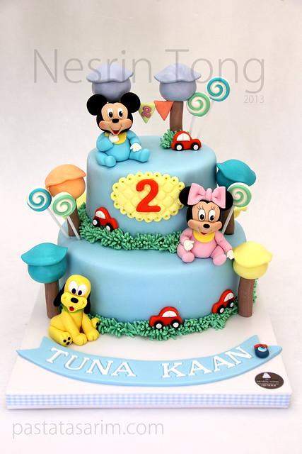 baby disney team cake