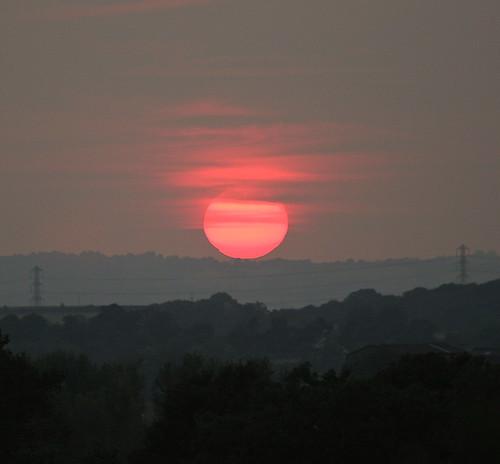 sunset clouds canon landscape solar day cloudy worcestershire dslr bromsgrove