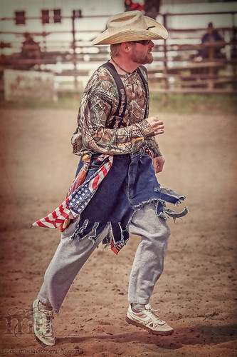 Gooseberry Lake : 4-H Rodeo 2013 : Clowing Around