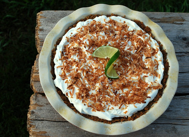 Pina Colada Ice Box Pie