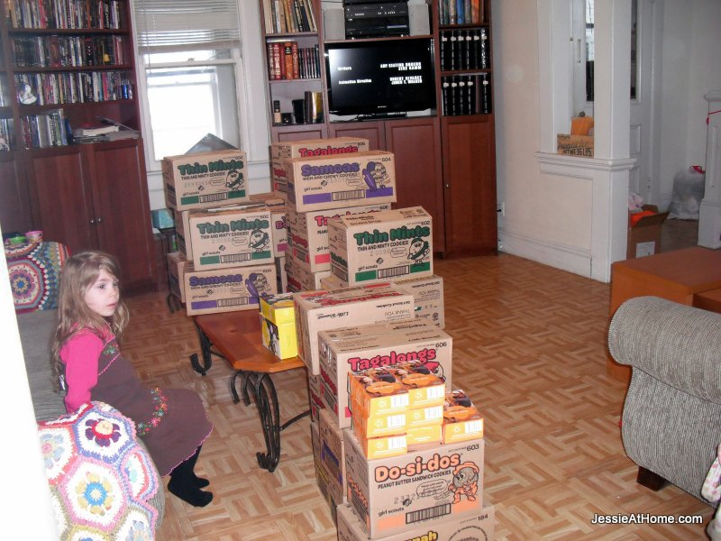 Girl-Scout-Cookies-in the living-room