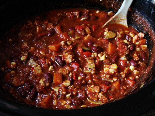 Vegan Tempeh Chili