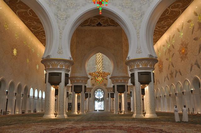 La espectacular Mezquita Sheikh Zayed en Abu Dabi 9554992969_c533fba604_z