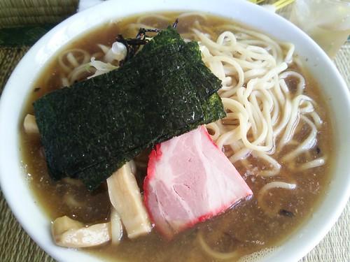 ra130827東京いまむら 狂った煮干しラーメン大盛