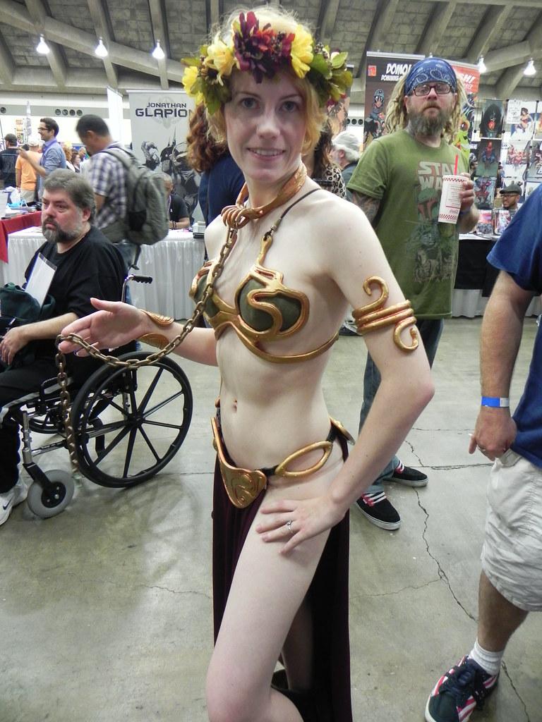 Leia metal Bikini Star Wars