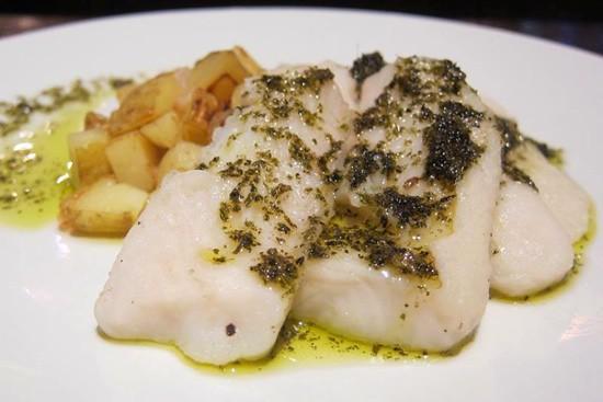 fish pesto