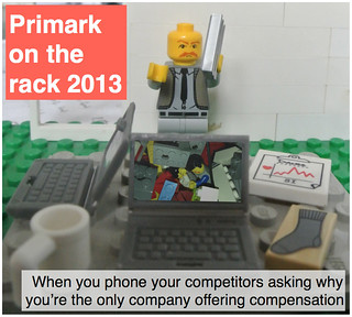 Primark on the rack 2013: when you phone your competitors