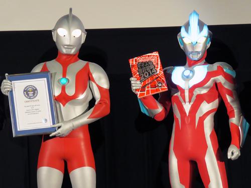 130913 - 特攝英雄《ウルトラマン》(超人力霸王 Ultraman)締造「全球史上最多系列的電視影集」金氏世界紀錄、無人能敵! 2