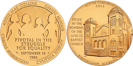 Church bombing Congressional gold medal
