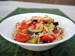 R is for Rosemary Vegan Chicken and Olive Orzo [Be…