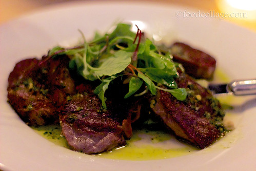 Beef Tongue with Salsa Verde