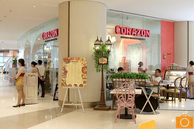 Corazon facade