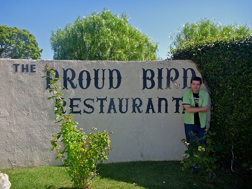 The Sign Proud Bird - LAX Los Angeles, CA