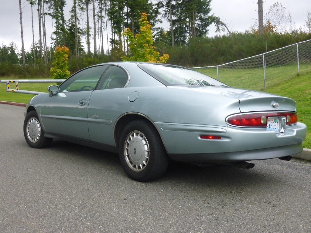 My new 1996 Riviera -- Light Jadestone Metallic, normally aspirated 10240133223_5b75684a8a_b