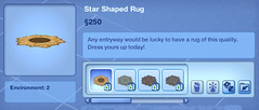 Star Shaped Rug