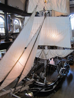 USA - Massachusetts - New Bedford - New Bedford Whaling Museum - Whaling ship - Lagoda