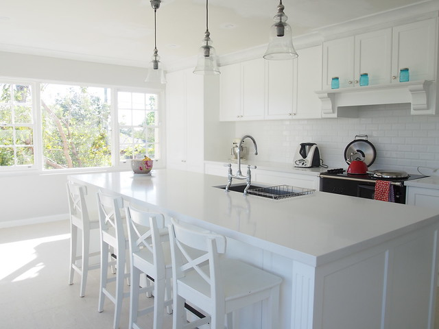 Everything you wanted to know about my 2nd kitchen renovation for Hamptons style kitchen splashback