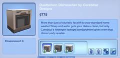 Dualterium Dishwasher by Corebital Designs