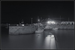 Portpatrick By Night (2): Harbour