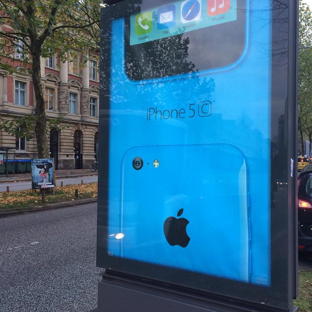 Blau Iphone