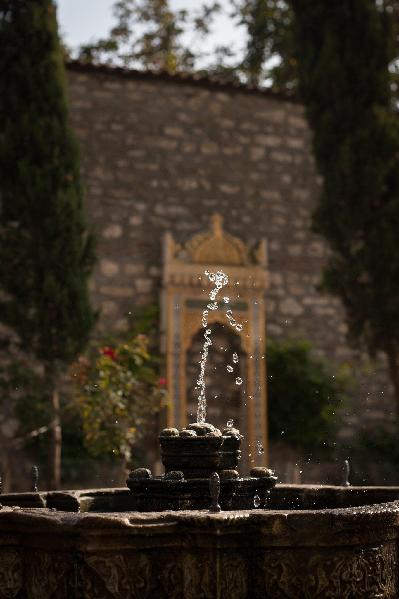 Fountain, Topkapı Palace.