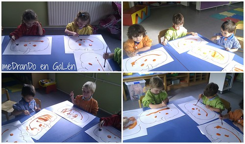 NURSERY 1 PUMPKIN COLOURING