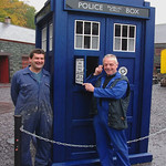 Gareth&Nigel-With the Tardis.