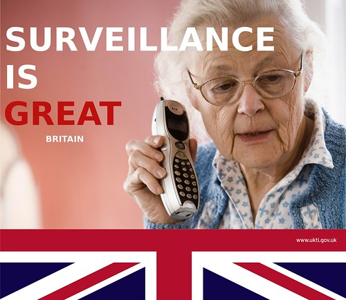SURVEILLANCE IS GREAT BRITAIN by Teacher Dude's BBQ