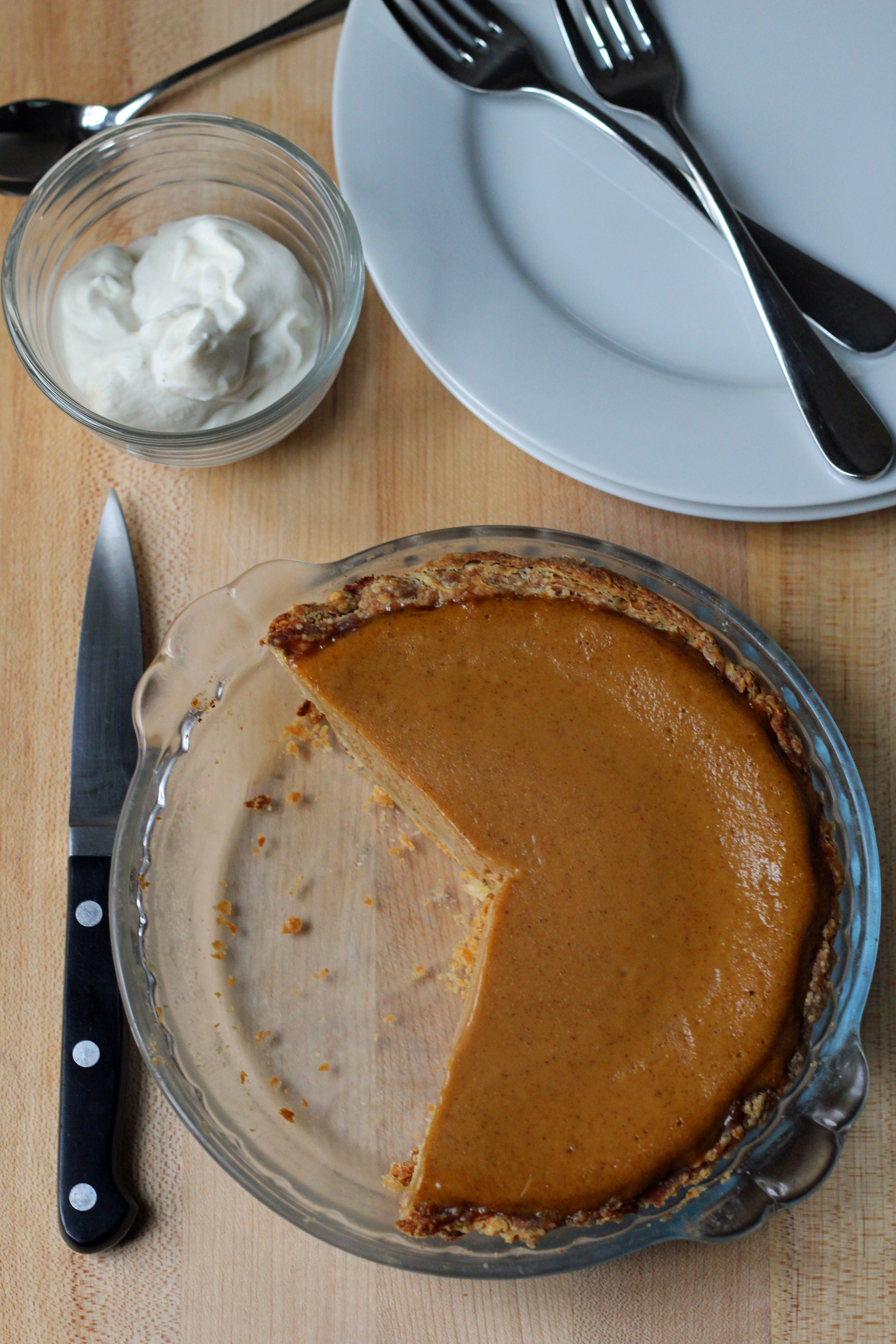 sweet potato ginger pie