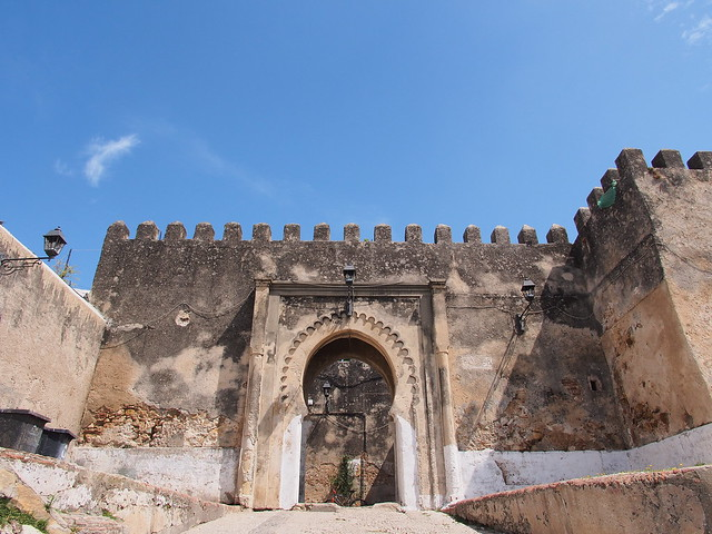 Petit Souk, Kasbah Walls