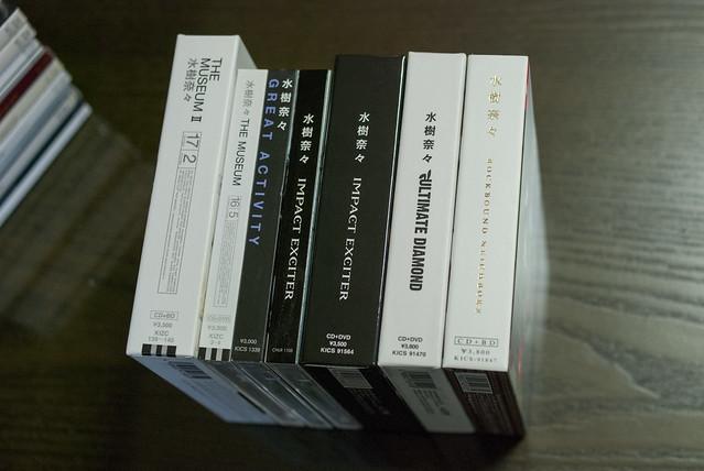 Albums of Mizuki Nana