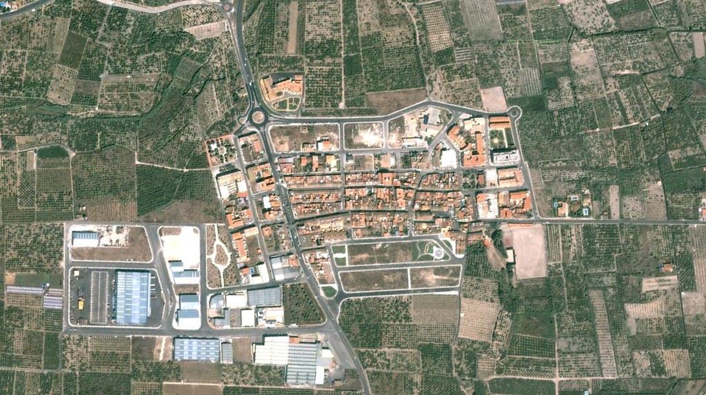 miramar, valencia, expansión como los zerg pero con rotondas, antes, urbanismo, planeamiento, urbano, desastre, urbanístico, construcción
