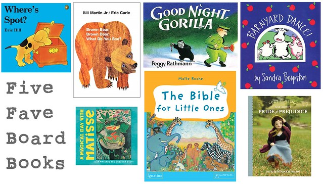 Five Fave Board Books