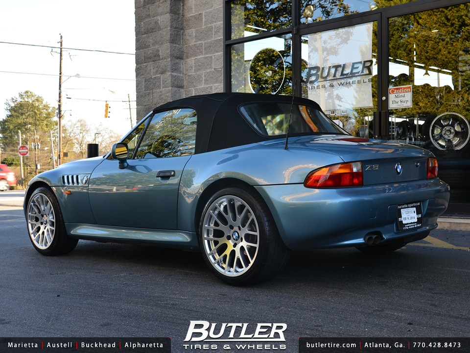 Bmw Z3 With 18in Beyern Spartan Wheels A Photo On Flickriver