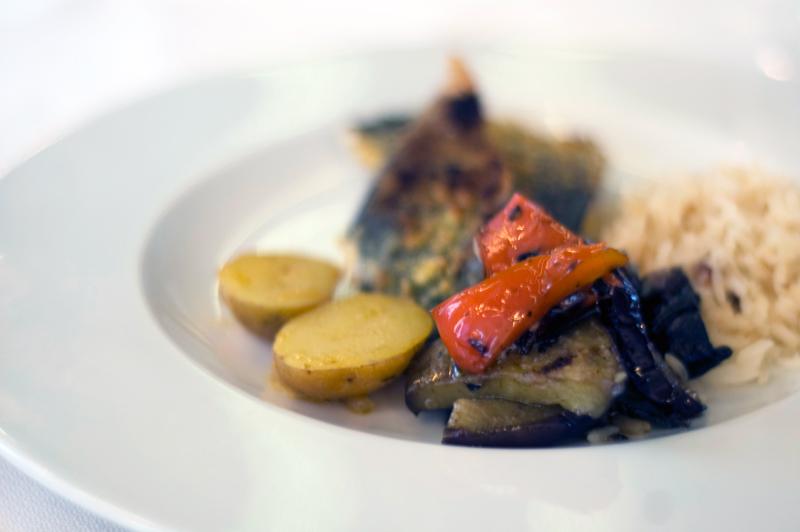 U-Chiado, buffet mediterrânico
