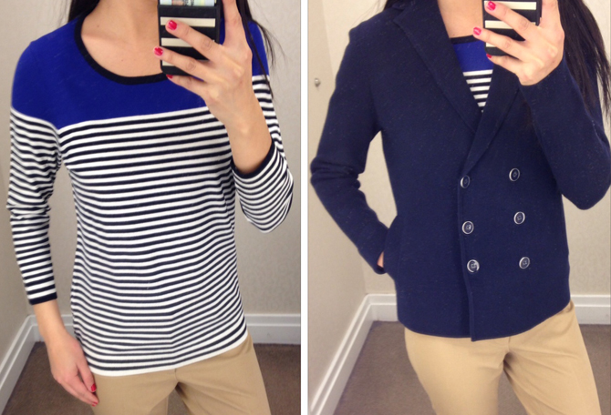 Talbots nautical tops