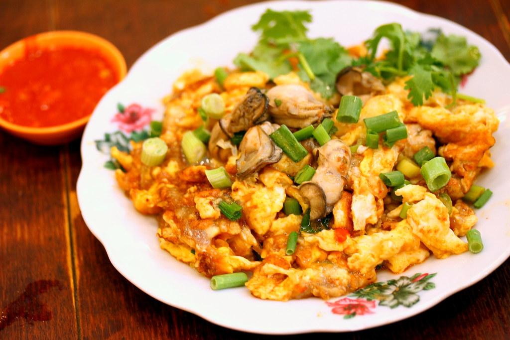 Malaysia Boleh's Penang Lor Selamat Fried Oyster 槟城著名嘉嘉蚝煎