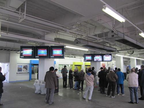 川崎競馬場のスタンド