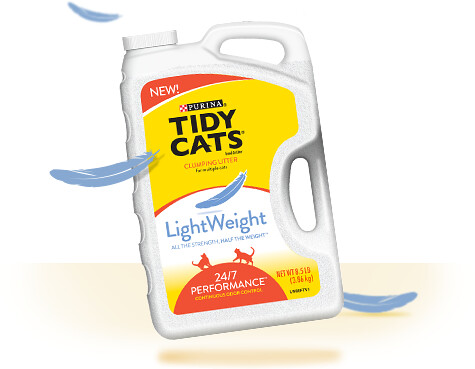 Tidy Cats LightWeight Litter Review » Footprints on the Moon