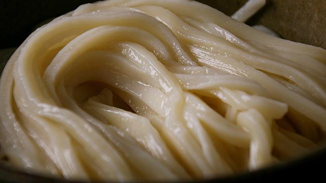 小縣家の麺です。