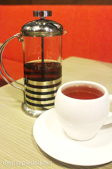 Singapore Sling Hot Tea (P70)