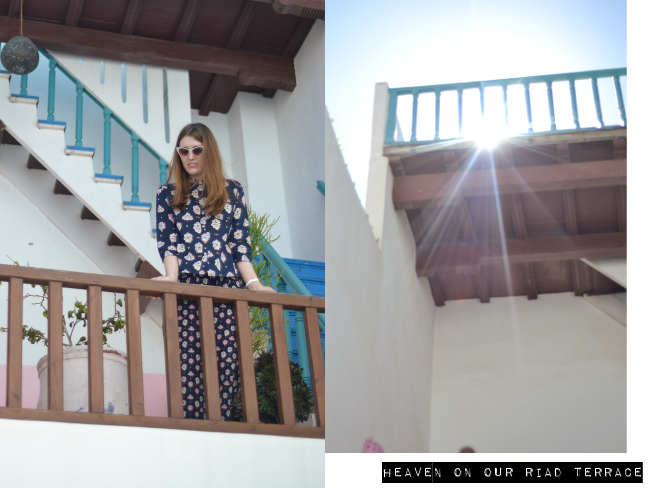 Daisybutter - UK Style and Fashion Blog: Morocco, Essaouira, Dar Lazuli riad, where to stay in Essaouria, hotel recommendations in Essaouira Morocco