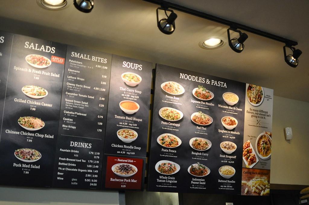 Noodles & Co menu
