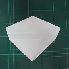 วิธีพับกระดาษเป็นรูปปลาแซลม่อน (Origami Salmon) 020
