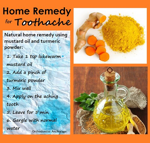 Home Remedy for Toothache II - Orthodontist Anchorage