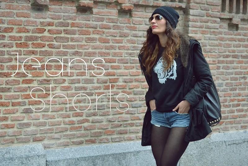 jeans shorts pull&bear